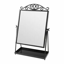 IKEA KARMSUND Table vanity mirror, black