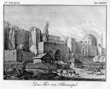 Adrianopell Edirne, Türkei, Original-Lithographie von 1832