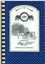 *INDIANAPOLIS IN 1992 IRH RETIREMENT HOME COOK BOOK *RESIDENTS STAFF & FRIENDS