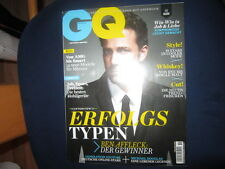 GQ 11/2014 Ben Affleck Whiskey Michael Douglas YouTube AMG Smart Chanel