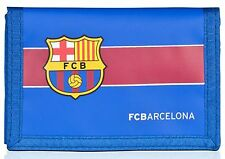 BARCELONA FC  WALLET NYLON SPORTS FASTENING WITH CLUB CREST