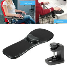 Black Ergonomic Home Office Computer Arm Rest Chair Desk Wrist Mouse Pad Support