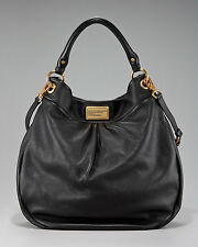 Marc by Marc Jacobs Classic Q Huge Hillier Hobo Bag Black NWT $498