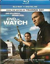 End of Watch (Blu-ray Disc, 2014, Includes Digital Copy; UltraViolet)