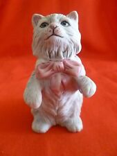 FRANKLIN MINT~1980's 3rd Series Curio Cabinet Cat Figurine # Cybis