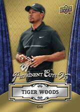2016 National Convention Prominent Cuts VIP UD TIGER WOODS Golf PROMO Redemption