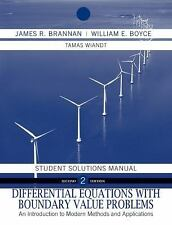 Differential Equations, Student Solutions Manual: An Introduction to Modern Meth