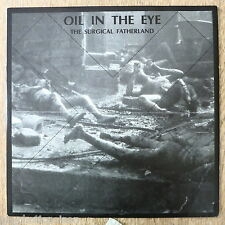 OIL IN THE EYE - THE SURGICAL FATHERLAND  mini LP  Industrial EBM from Sweden