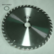 "10"" 40T Tungsten Carbide Tipped Circular Wood Cutting Saw blade 1"" or 20mm arbor"