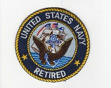 USN Retired BC Patch Cat No M5822