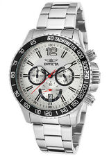New Mens Invicta 15612 Specialty Chronograph Steel Bracelet Watch
