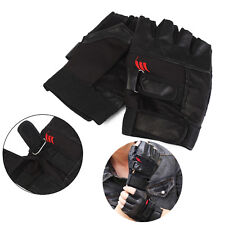 Weight Lifting Gym Exercise Training Sport Fitness Sports Car Leather Gloves LA