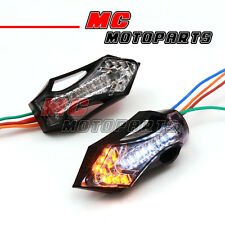 Xword LED Turn Signal & White Lights For Kawasaki Ninja ZX 600 900 750 ZX-6R