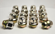 "Set of 16 x 3/8"" UNF, 17mm Hex Rover Mini Wheel Nuts (Silver)"