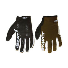 Answer Fall Line XC MTB Full-finger Gloves XL Dirt Brown