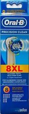 Oral B Precision Clean 8XL Brush Heads Counts