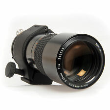 Nikon 200mm f4 AI-S Macro Micro Nikkor Manual Focus Lens For Nikon F Mount