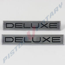 DELUXE Guard Badges x2 , New, for FORD Falcon Futura Fairmont XP XM Fender Panel