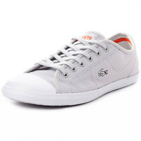 Lacoste Ziane 216 1 Womens Textile Light Grey Trainers