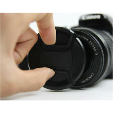 67mm Centre Pinch on Lens Cap For Canon 60D 600D 18-135mm lens Nikon uk