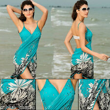 Sexy Women's Dress Floral Bikini Swim Suit Bathing Suits Swimwear Cover Up Beach