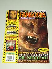 FANGORIA #156 SEPTEMBER 1996 THE CROW ISLAND OF DR MOREAU HORROR UK MAGAZINE