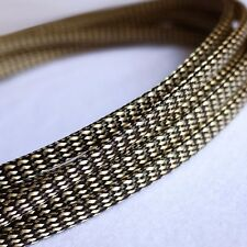10M x 6MM Gold&Black High Densely Expandable Braided Dense PET Sleeving Cable