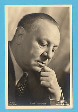 GERMAN  ACTOR  -  ROSS  VERLAG  SCARCE  POSTCARD  -  EMIL  JANNINGS  A -  1930's