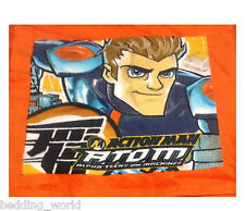 PACK OF 2 FACE CLOTHS ACTION MAN ATOM ORANGE BLUE ARMY FIGURE FLANNEL TOWEL