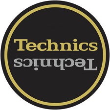Technics Ltd Edition Champion Slipmats (2) Gold/Silver - Official from DMC World