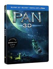 Pan 3D Blu Ray + 2D Blu Ray Steelbook (Nordic)