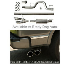 2011-2014 Ford F150 Roush Dual Side Exit Exhaust Cat Back Stainless Steel 421711