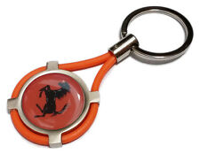 Portachiavi FERRARI auto moto keyring MADE IN ITALY idea regalo OR