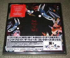 PINK FLOYD Japan PROMO issue THE WALL box set SEALED Immersion 6 CD & DVD + more