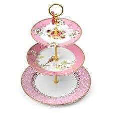 PIP STUDIO Kuchenständer Etagere EARLY BIRD ROSA-Pip Studio Cakestand EARLY BIRD