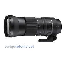 SIGMA 150-600mm Tele Zoom Objektiv 5,0-6,3 DG OS HSM Contemporary für Canon EOS
