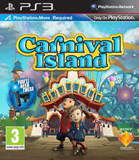 Carnival island PS3 Move Game (in Great Condition)