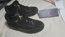 Nike Air Jordan III Retro 3s BHM  size 9.5 Free shipping double boxed