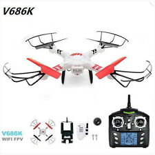 WLtoys V686 V686K WiFi FPV Headless Mode Phone RC Drone Quadcopter w/ HD Camera