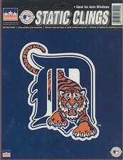 12 Detroit Tigers 6 inch Static Cling Stickers