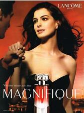PUBLICITE  2008   LANCOME    ANNE HATAWAY  MAGNIFIQUE  parfum