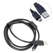 USB DC Battery Charger +Data SYNC Cable Cord Lead For Olympus camera SZ-20 SZ-17