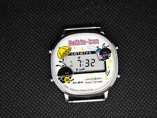 SEIKO Vintage Digital Watch GAME WATCH Y755-4000 SONY BAIKIN KUN LCD 80s