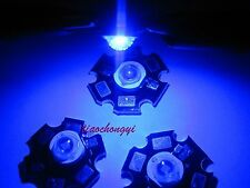 Hot 10-100 pcs 1W 3W High Power red,green,Blue,Royal blue LED with 20mm star PCB