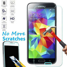 Premium Real Tempered Glass Screen Protector Film Cover For Samsung Galaxy S5