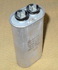 GE Motor Run Oil Can Capacitor 10uf @ 370V 370VAC 60Hz FREE SHIPPING