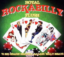 Royal Rockabilly Flush / 75 Big Brash Beastly Badass Billy Beats - 3 CDs NEU/OVP