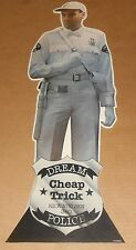 Cheap Trick Dream Police Rick Nielsen Cardboard Display 1979 Poster 25x9 RARE