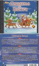 CD--VARIOUS -- --3CD SET -- CHRISTMAS IN  EUROPE
