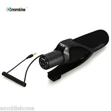 Commlite CVM V30 Photography Interview Shotgun Recording Mic Microphone for Cam